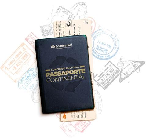 concurso passaporte continental