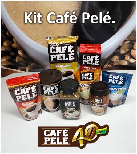 Kit Café Pelé