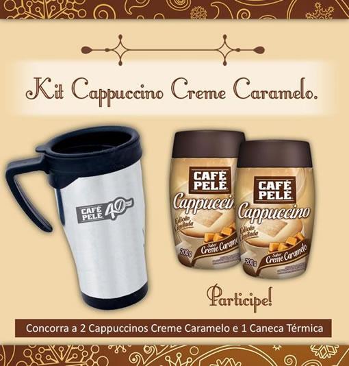 Kit Cappucino Creme Caramelo