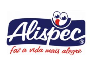 Logo Alispec, faz a vida mais alegre
