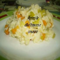 Receita de arroz de alho franc s e cenoura braga for Frances culinario 1